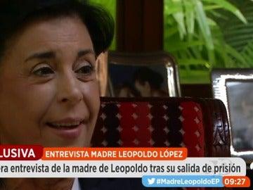 """La madre de Leopoldo López: """"Él no piensa en la presidencia de Venezuela, está pensando en un cambio de régimen"""""""