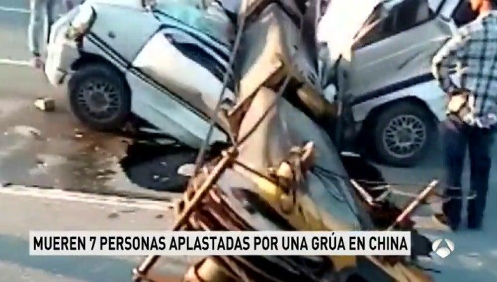 7 muertos y 3 heridos en un accidente en China