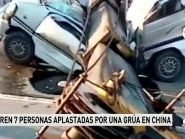 7 muertos y 3 heridos en un accidente en China