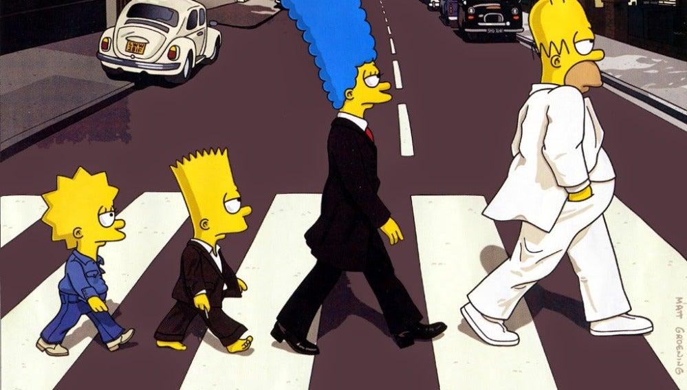 Celebramos el Día Mundial del Rock con 'Los Simpson' más rockeros