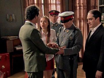 Rafael detenido en mitad de su reconciliación con Alba