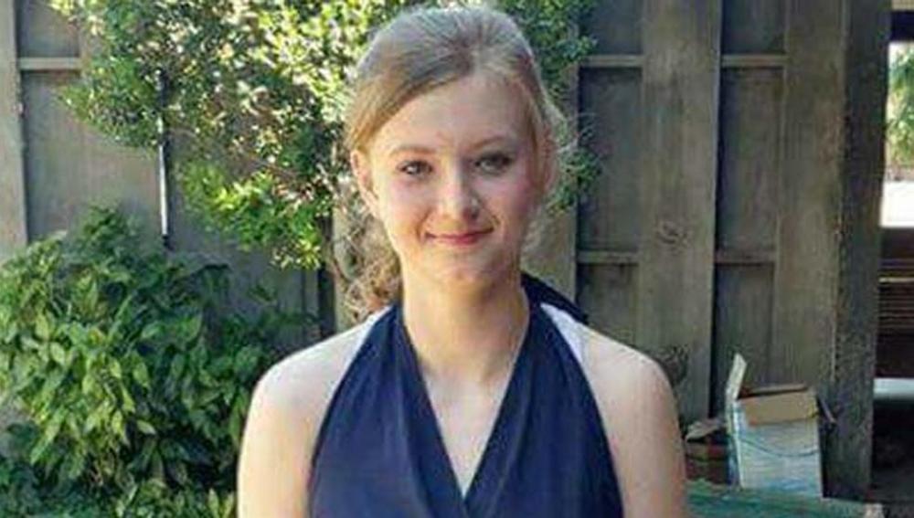 Madison Coe, en una foto publicada por su familia