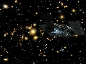 Científicos españoles descubren una galaxia situada a 10.000 millones de años luz de la tierra