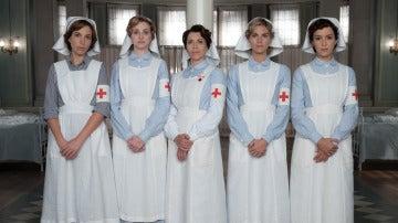 Así son las enfermeras de 'Tiempos de guerra'