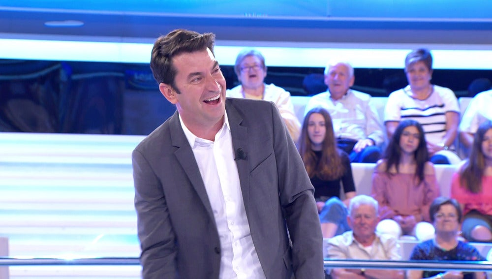 El tronchante chiste que se le resiste a Arturo Valls