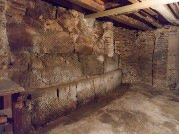 Nuevo tramo de muralla descubierto en Zaragoza