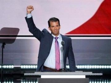 El hijo del presidente estadounidense, Donald Trump Jr