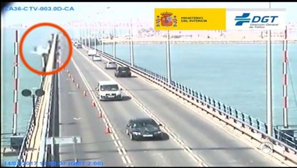 Carretera del accidente mortal en Valencia