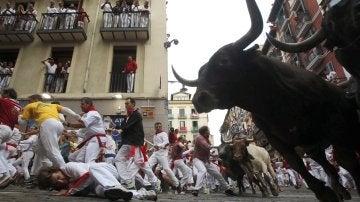 Octavo encierro   San Fermín 2017