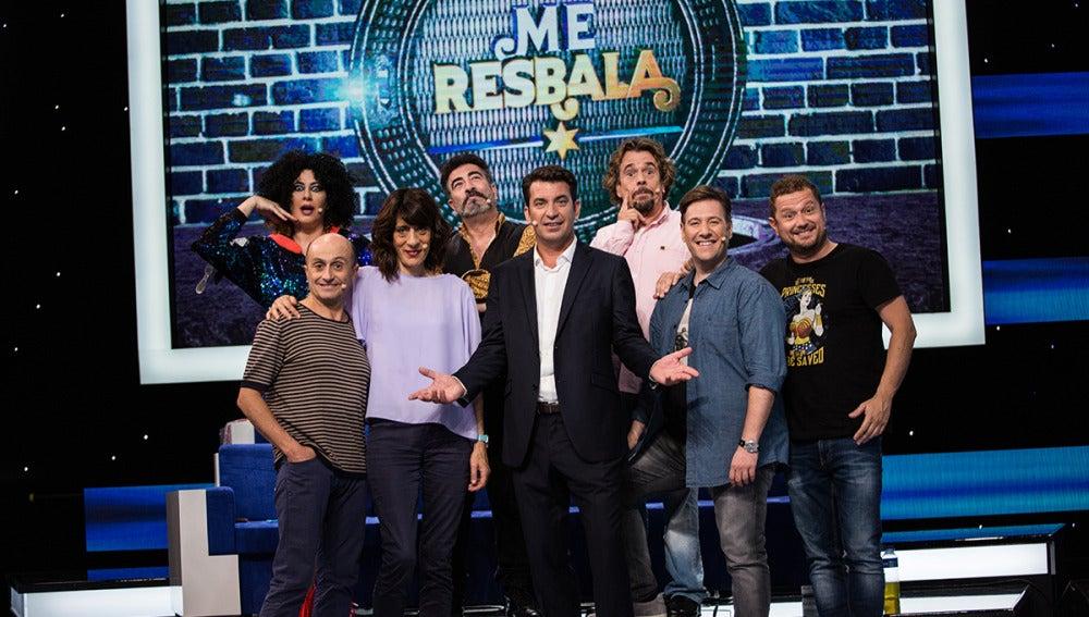 Ya conocemos al ganador del primer programa de 'Me Resbala'