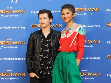 Zendaya y Tom Holland