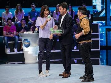 Juana Cordero comparte 'polvo' con Agustín Jiménez en 'Me Resbala'