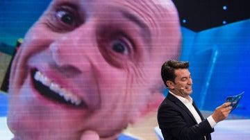 Pepe Viyuela saca su peor 'kareto' para superar la prueba más expresiva de 'Me Resbala'