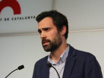 Roger Torrent Portavoz adjunto de Junts x Si en el parlamento de Cataluña