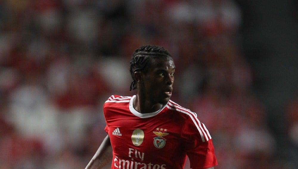 Nélson Semedo, en un partido con el Benfica