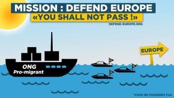 """""""Defend Europe"""", el plan del grupo de extrema derecha """"Generación Identitaria"""""""