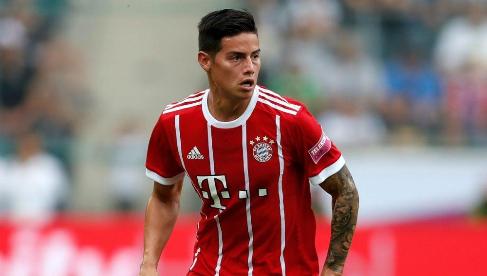 James, con el Bayern