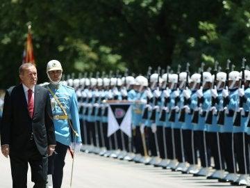 Homenaje al primer aniversario del golpe de estado fallido en Turquía