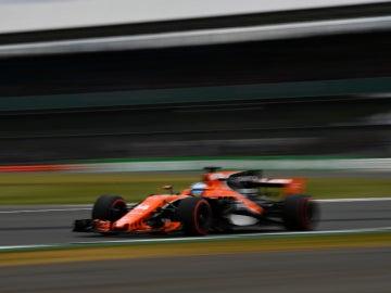 Alonso, en Silverstone