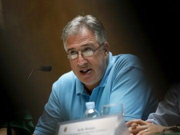 El concejal de Seguridad Ciudadana de Pamplona, Aritz Romeo