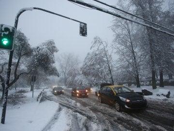 Las nevadas en Chile dejan un muerto, dos heridos y miles de hogares sin luz