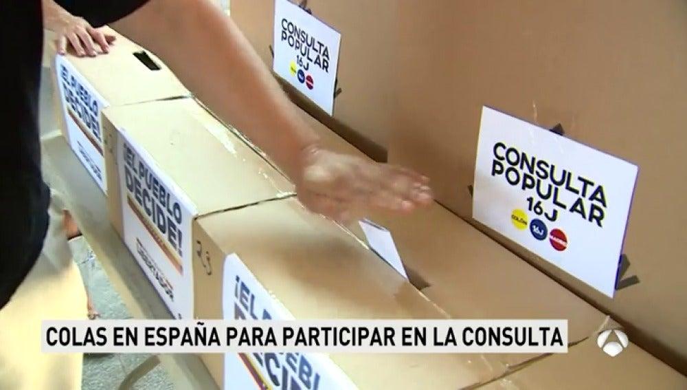 Venezolanos España