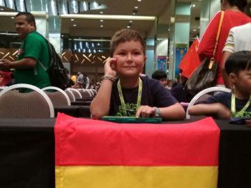Ignacio Bravo, experto en cálculo con sólo 8 años