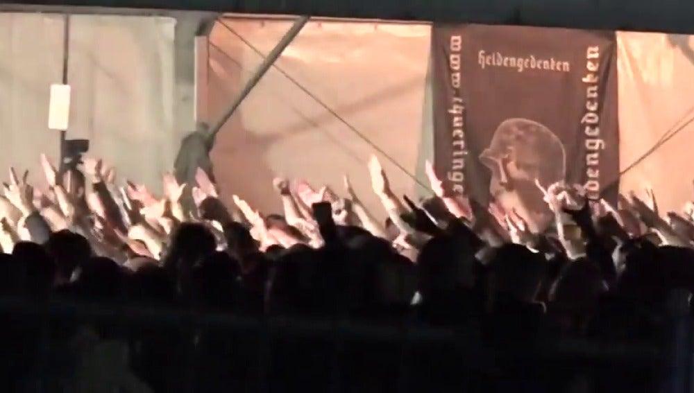 Más de 6.000 neonazis toman un pueblo alemán para un concierto