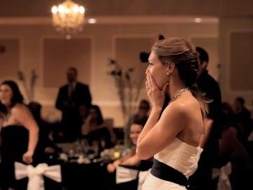 Andrea en su boda