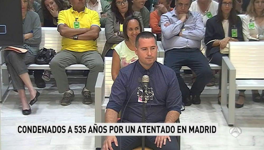 Detenido el etarra Liher Aretxabaleta, condenado a 535 años de cárcel por una furgoneta bomba en Madrid en 2005