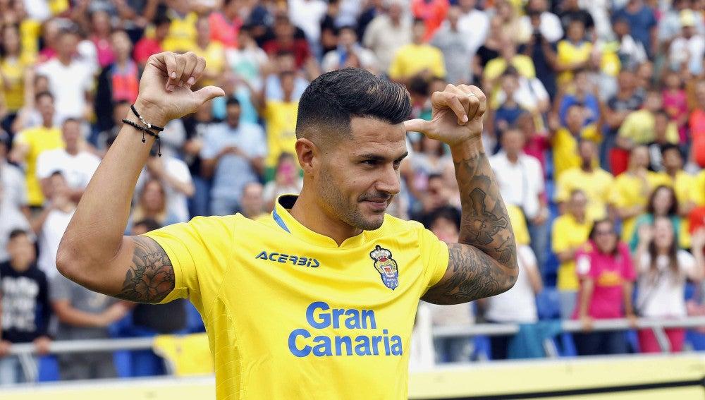 Vitolo con Las Palmas