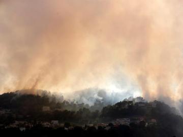 Incendios en Francia