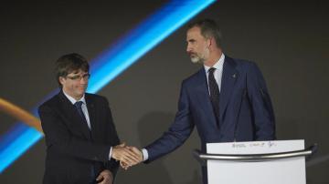 Puigdemont y Felipe VI