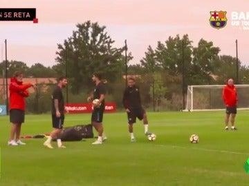 El reto de Messi, Suárez y Neymar...¿Quién tiene más puntería?