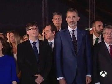 """Felipe VI apela a recuperar el """"espítiru de concordia"""" institucional que permitió el éxito de Barcelona'92"""