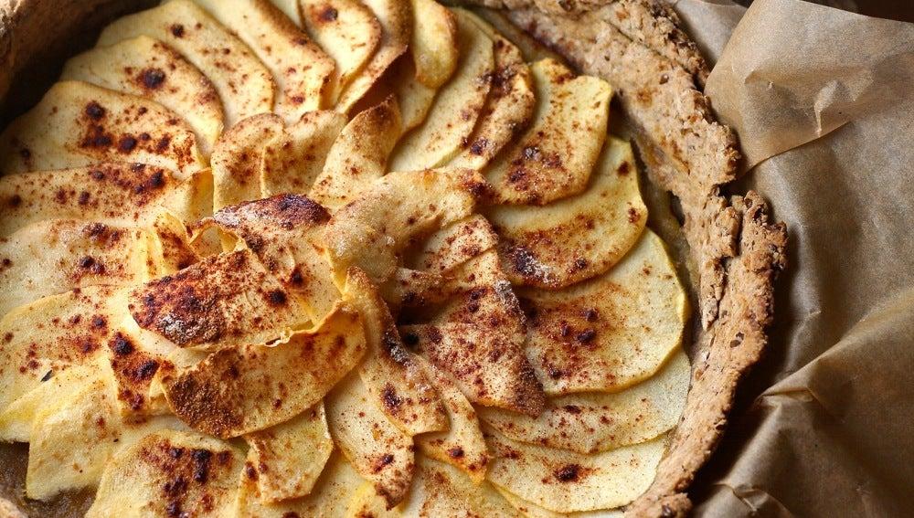 Tarta manzana y canela