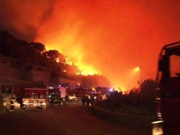 Los incendios arrasan el sur de Francia