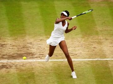 Venus disputando la final de Wimbledon