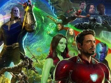 Póster de 'Avengers: Infinity War'
