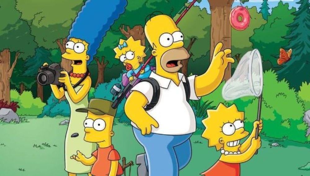 Las vacaciones de 'Los Simpson'
