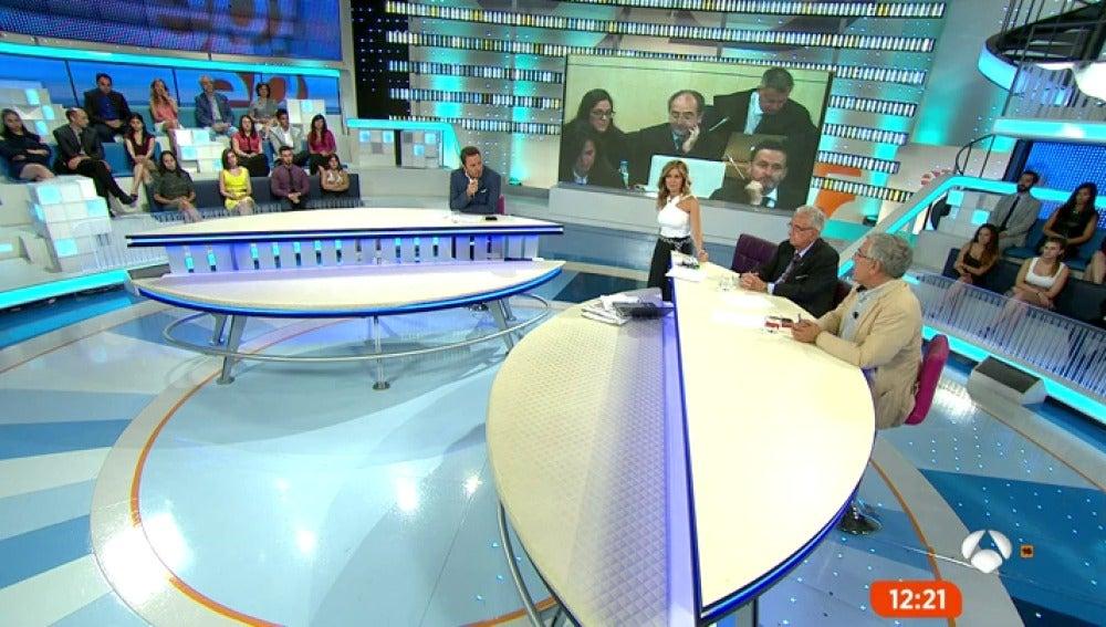 Antena 3 tv ltimas valoraciones en el plat de espejo p blico - Antena 3 espejo publico ...