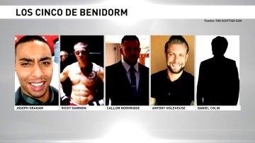 """Libertad con cargos para """"la manada de Benidorm"""""""