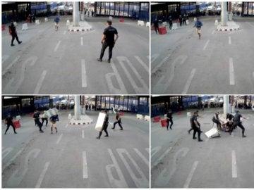 Prisión incondicional y sin fianza para asaltante de la frontera de Melilla