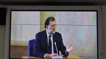 Rajoy declara en la Audiencia Nacional