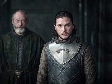 """Jon Snow en """"The Queen's Justice"""""""