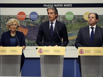Presentación del proyecto Madrid Nuevo Norte