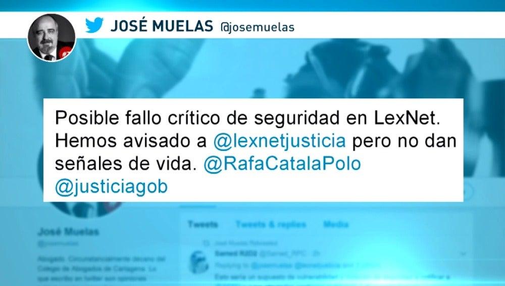 La Justicia española queda al descubierto por un fallo de LexNet
