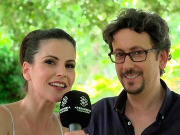 """Noemí Ruiz y David Arnaiz: """"Pedimos a los guionistas que Trini se terminara enamorando de Cristóbal"""""""