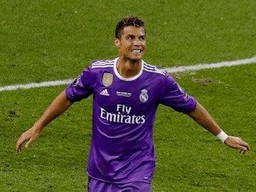 Cristiano Ronaldo, durante la final de la Champions contra la Juventus