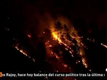 Sin control el incendio de Albacete que ya ha provocado el desalojo de 200 personas